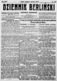Dziennik Berliński. 1922 R.26 nr262