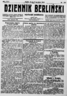 Dziennik Berliński. 1922 R.26 nr263