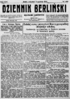 Dziennik Berliński. 1922 R.26 nr269