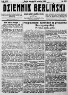 Dziennik Berliński. 1922 R.26 nr273