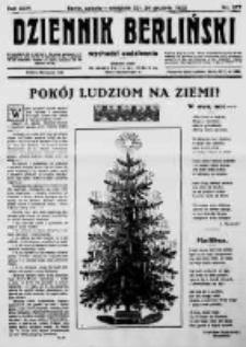 Dziennik Berliński. 1922 R.26 nr277