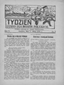 """Tydzień: pismo dla rodzin polskich: dodatek niedzielny do """"Gazety Szamotulskiej"""" 1935.02.17 R.10 Nr7"""