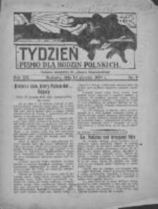 """Tydzień: pismo dla rodzin polskich: dodatek niedzielny do """"Gazety Szamotulskiej"""" 1937.01.10 R.12 Nr2"""