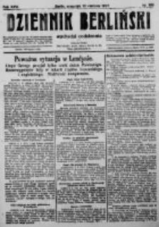 Dziennik Berliński. 1922 R.26 nr166