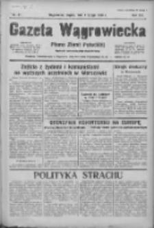 Gazeta Wągrowiecka: pismo ziemi pałuckiej 1936.02.07 R.16 Nr31