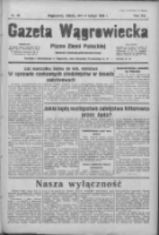 Gazeta Wągrowiecka: pismo ziemi pałuckiej 1936.02.08 R.16 Nr32
