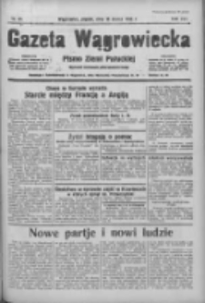 Gazeta Wągrowiecka: pismo ziemi pałuckiej 1936.03.13 R.16 Nr61