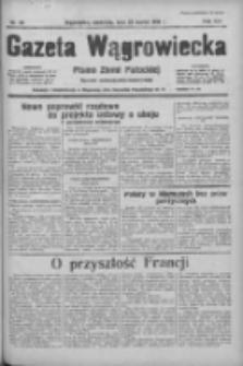 Gazeta Wągrowiecka: pismo ziemi pałuckiej 1936.03.22 R.16 Nr69