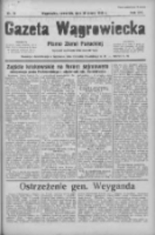 Gazeta Wągrowiecka: pismo ziemi pałuckiej 1936.03.26 R.16 Nr72