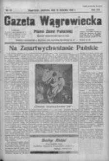 Gazeta Wągrowiecka: pismo ziemi pałuckiej 1936.04.12 R.16 Nr87