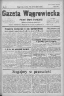 Gazeta Wągrowiecka: pismo ziemi pałuckiej 1936.04.15 R.16 Nr88