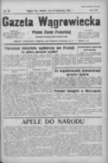 Gazeta Wągrowiecka: pismo ziemi pałuckiej 1936.04.28 R.16 Nr99