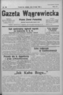 Gazeta Wągrowiecka: pismo ziemi pałuckiej 1936.05.02 R.16 Nr103