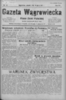 Gazeta Wągrowiecka: pismo ziemi pałuckiej 1936.05.19 R.16 Nr117