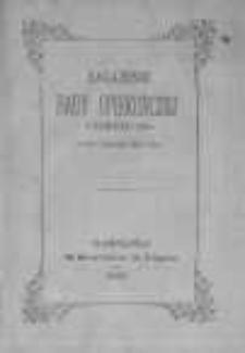 Zagajenie Rady Opiekuńczej Cyrkułu XIgo w dniu 5 grudnia 1858r. przez vice-prezesa administracyi ogólnej Warszawskiego Tow. Dobroczynności
