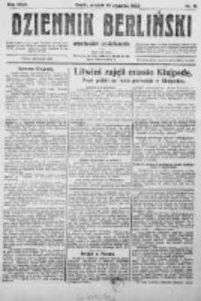 Dziennik Berliński. 1922 R.27 nr12