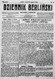 Dziennik Berliński. 1923 R.27 nr19