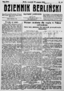 Dziennik Berliński. 1923 R.27 nr20