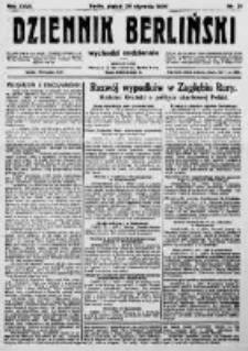 Dziennik Berliński. 1923 R.27 nr21