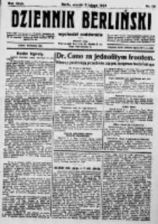 Dziennik Berliński. 1923 R.27 nr29