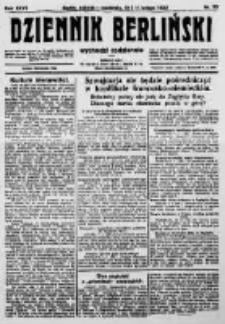 Dziennik Berliński. 1923 R.27 nr33