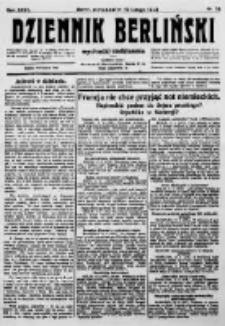 Dziennik Berliński. 1923 R.27 nr34