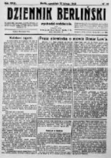 Dziennik Berliński. 1923 R.27 nr37