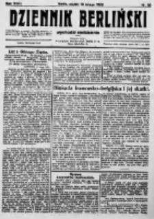 Dziennik Berliński. 1923 R.27 nr38