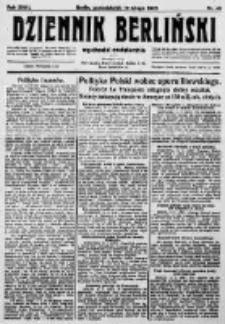 Dziennik Berliński. 1923 R.27 nr40