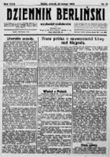 Dziennik Berliński. 1923 R.27 nr41