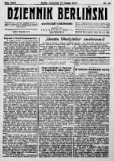 Dziennik Berliński. 1923 R.27 nr43