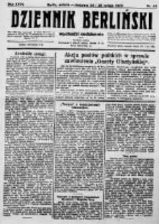 Dziennik Berliński. 1923 R.27 nr45