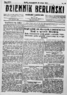 Dziennik Berliński. 1923 R.27 nr46
