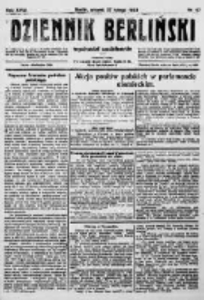 Dziennik Berliński. 1923 R.27 nr47