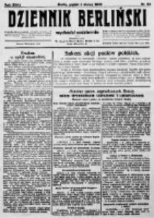 Dziennik Berliński. 1923 R.27 nr50