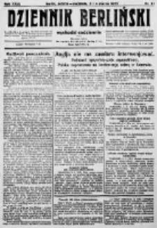 Dziennik Berliński. 1923 R.27 nr51