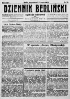 Dziennik Berliński. 1923 R.27 nr52