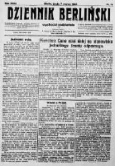 Dziennik Berliński. 1923 R.27 nr54