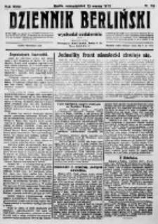 Dziennik Berliński. 1923 R.27 nr58