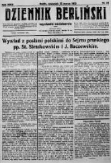Dziennik Berliński. 1923 R.27 nr61