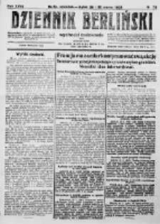 Dziennik Berliński. 1923 R.27 nr73