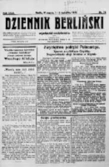 Dziennik Berliński. 1923 R.27 nr74