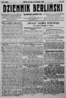Dziennik Berliński. 1923 R.27 nr75