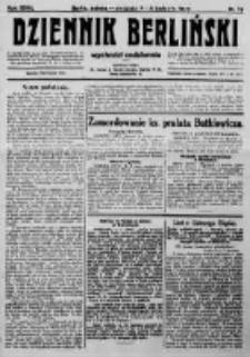 Dziennik Berliński. 1923 R.27 nr79