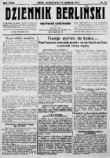 Dziennik Berliński. 1923 R.27 nr86