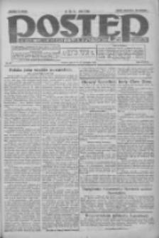Postęp: dziennik chrześcijański i narodowy: wychodzi w Poznaniu 1925.01.22 R.36 Nr17