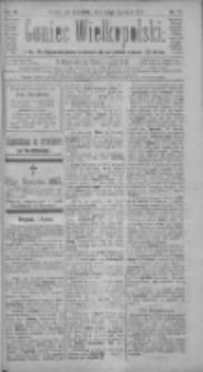 Goniec Wielkopolski: najtańsze pismo codzienne dla wszystkich stanów 1885.01.22 R.9 Nr17