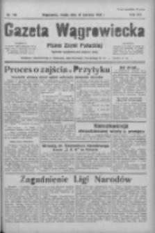 Gazeta Wągrowiecka: pismo ziemi pałuckiej 1936.06.10 R.16 Nr134