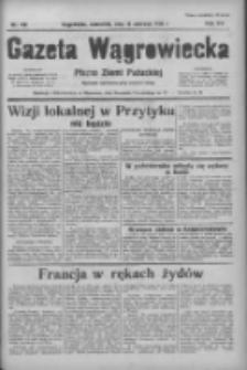 Gazeta Wągrowiecka: pismo ziemi pałuckiej 1936.06.18 R.16 Nr140