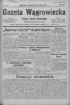 Gazeta Wągrowiecka: pismo ziemi pałuckiej 1936.07.16 R.16 Nr163